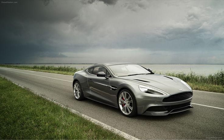 James bond car: the Aston martin vanquish