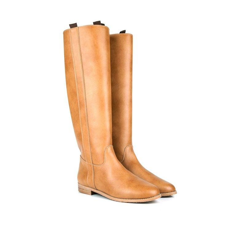 Beyond Skin - Camel Lyra Boots
