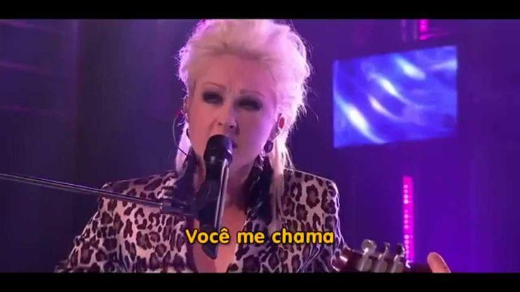 Cyndi Lauper - Time After Time - HD TRADUÇÃO