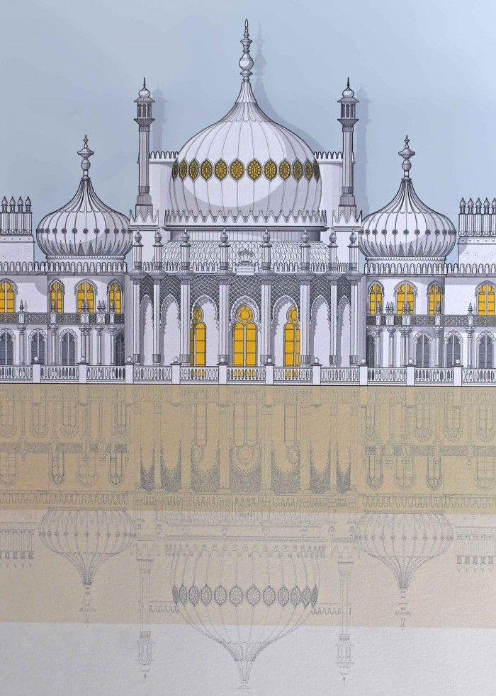 Linescapes : Brighton Royal Pavilion   Bailey Alexander Gallery