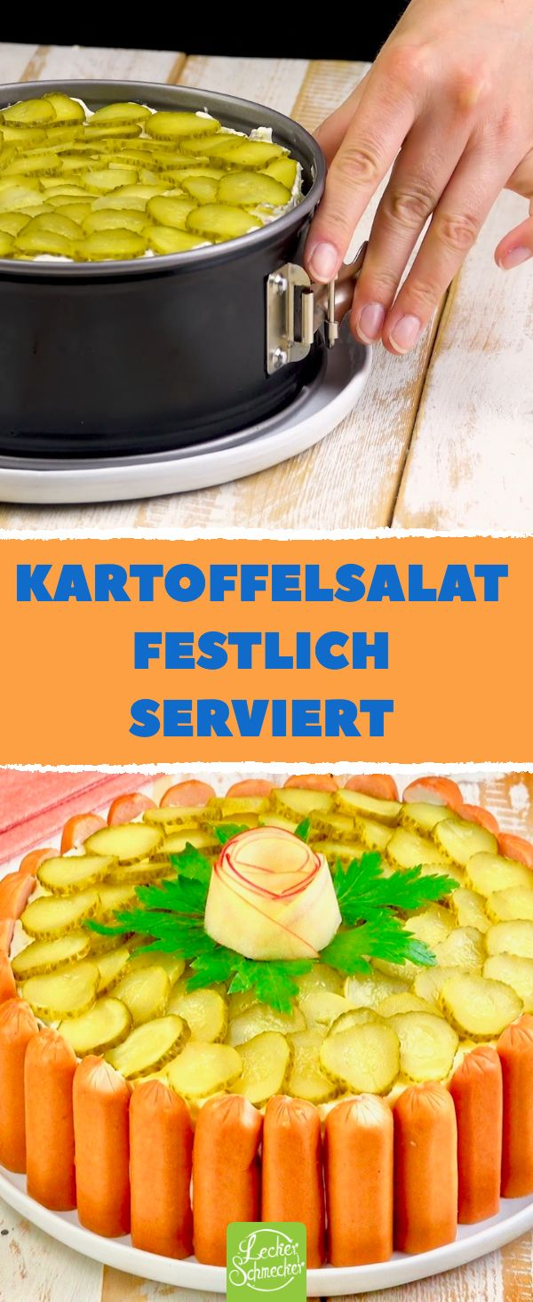 Kartoffelsalat mit Würstchen – Rezept für den …