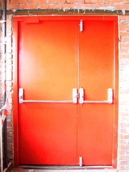 Покраска противопожарных дверей