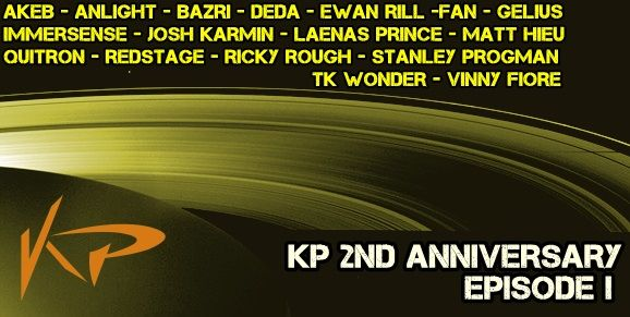 KP Recordings 2 Nd Anniversary EPİSODE 1  Release Date on Beatport : Jul.24.2014