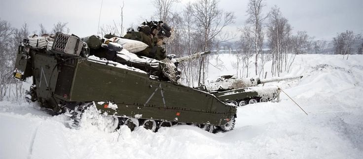 The CV 9030NO has a fantastic mobility in snow and marshes