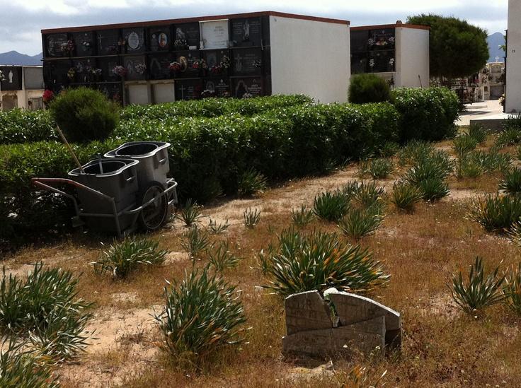Cementerio en Cabo de Gata