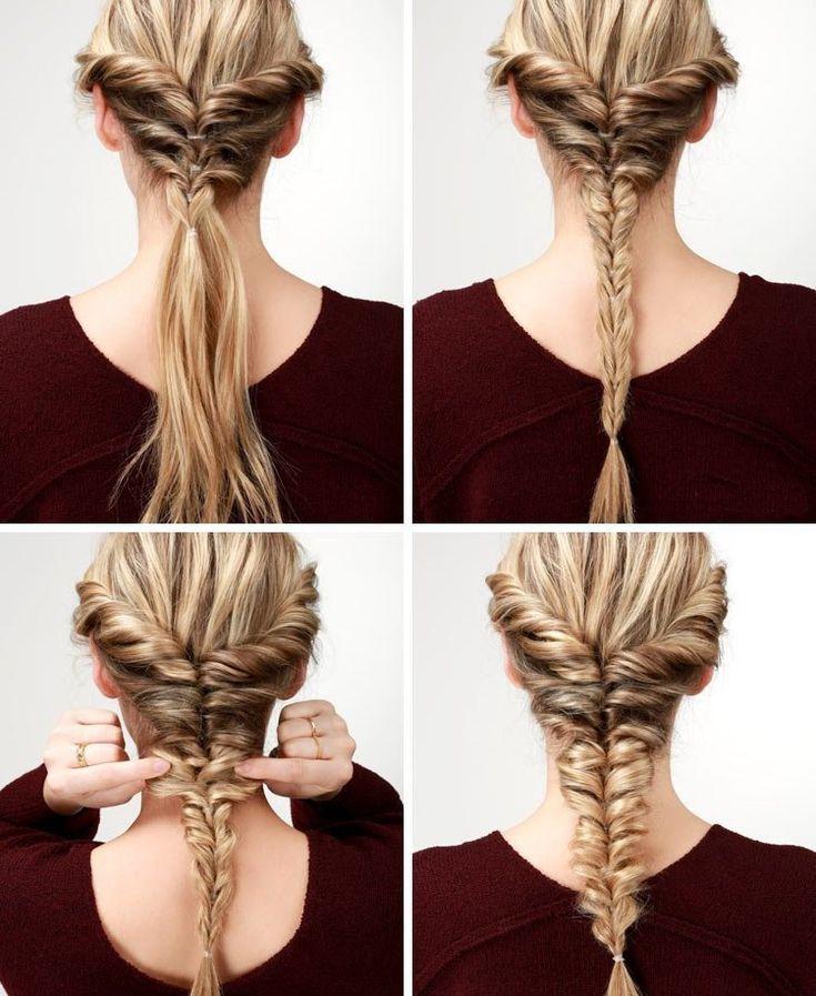 типа класса плетение кос фото пошагово на средние волосы этого