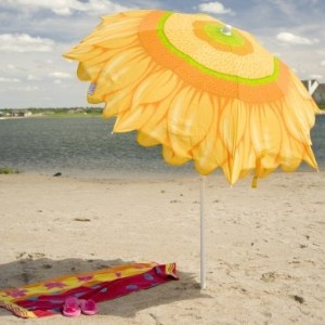 Sunflower Beach Umbrellas S H A D E Pinterest Umbrella And Parasols