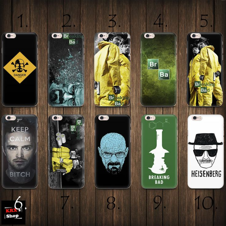 Breaking Bad Heisenberg THIN case cover iPhone 4s 5c 5 5s SE 6 6s 7 8 plus +