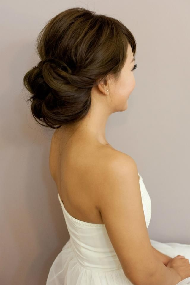 Pleasing 1000 Ideas About Wedding Hair Buns On Pinterest Hair Buns Short Hairstyles Gunalazisus