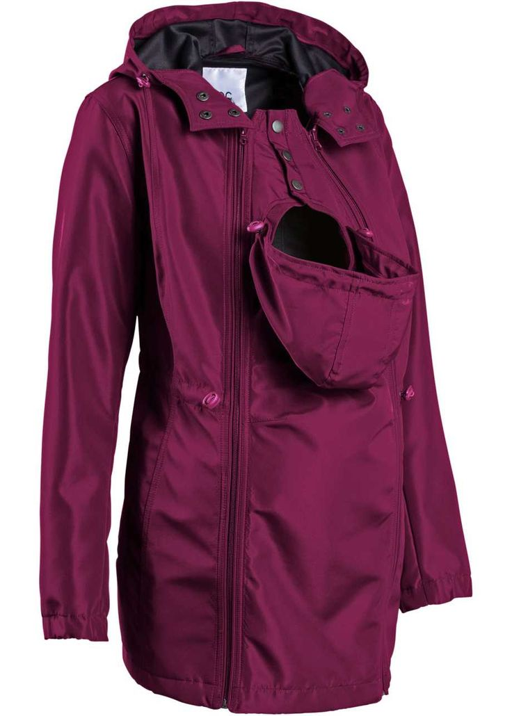 Těhotenská softshellová bunda s baby-vsadkou, bpc bonprix collection