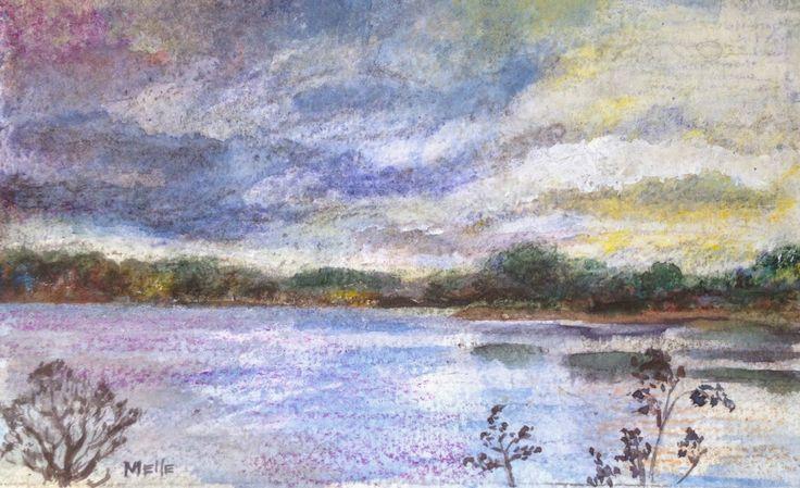 Studio Melle: Morning storm clouds