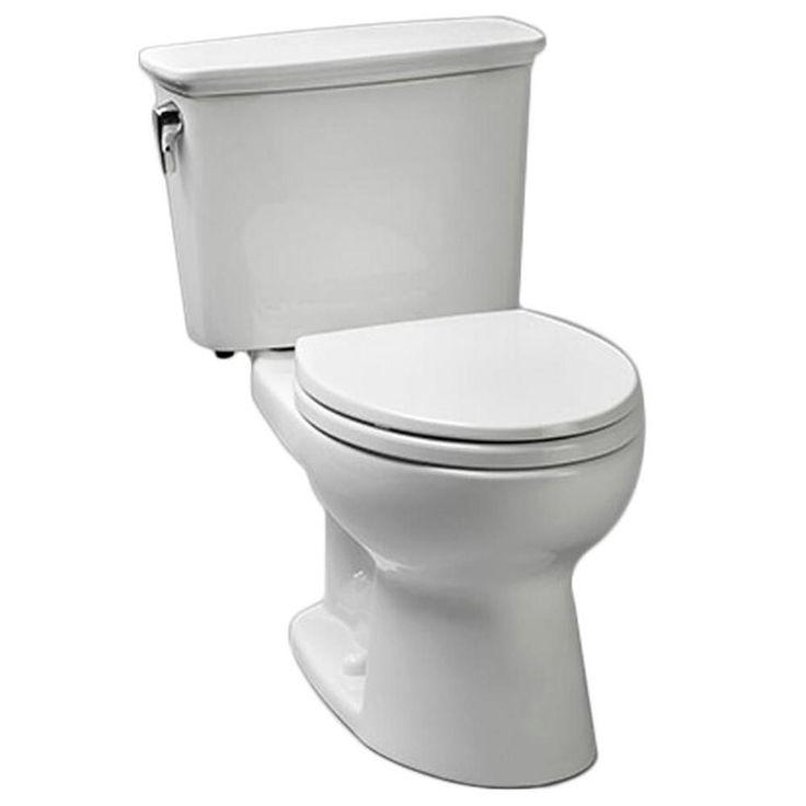 Toto Eco Drake 2-Piece 1.28-GPF Single-Flush Elongated Toilet in Sedona Beige, Sedona  Beige