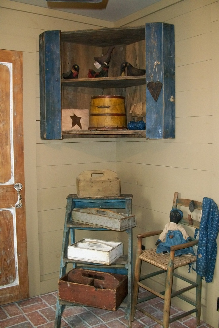 Primitive Wall Cabinets 609 Best Images About Primitive Shelves And Wall Cabinets On