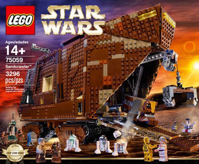 Behold the New 3,296-piece Lego Star Wars Sandcrawler!