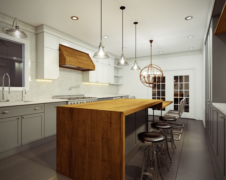 34 best waterfall countertops images on pinterest kitchen modern
