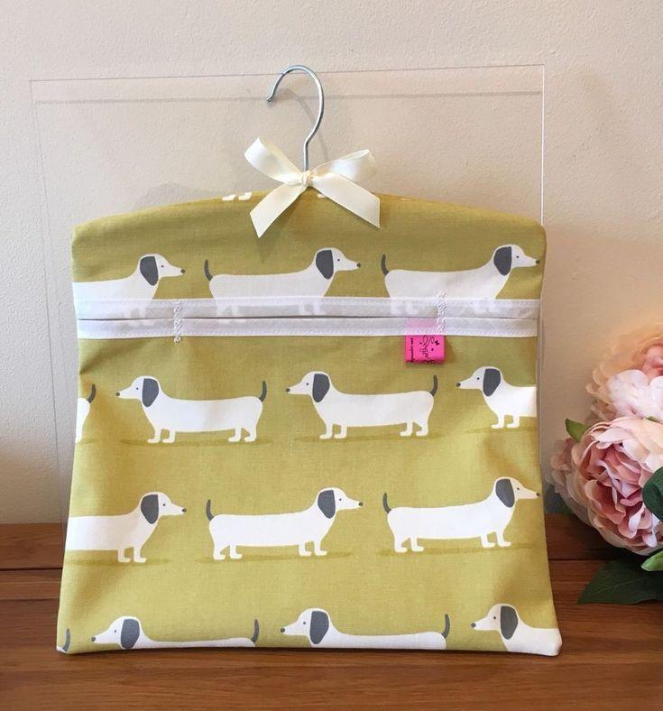 Washing Peg Bag Laundry Pin Bag Sausage Dog Dachshund Kitchen Kitsch  | eBay