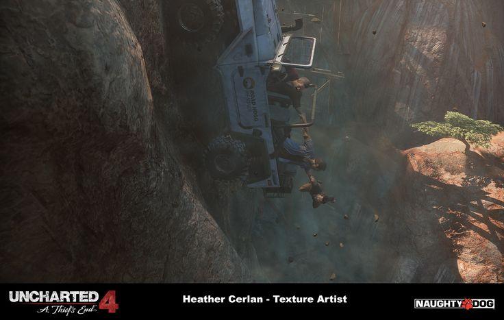 ArtStation - Uncharted 4 - Madagascar Trails, Heather Cerlan