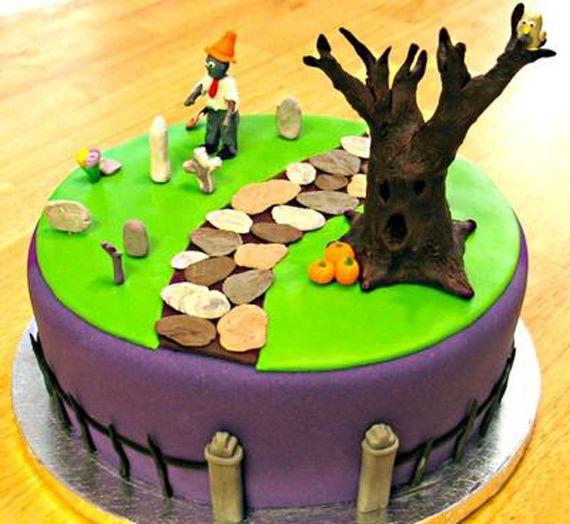 21 amazing halloween cake ideas