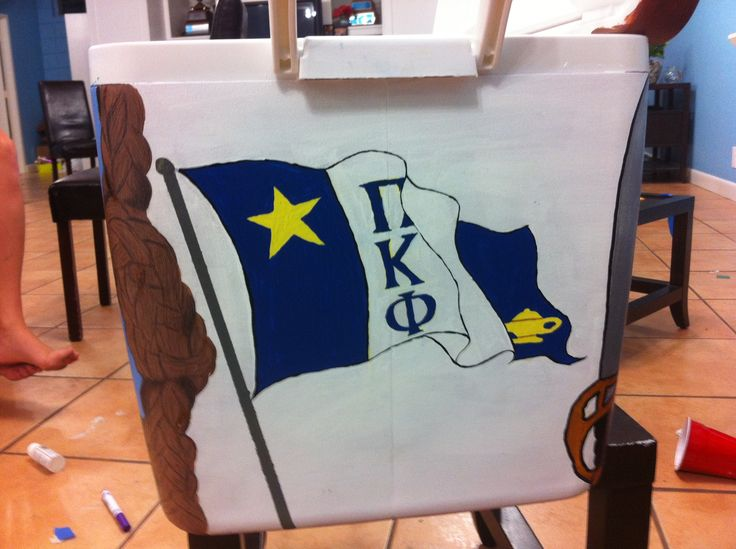 Pi Kappa Phi UMiami Philanthropy cooler Fall 2012 (Laurie Phillips KKG)