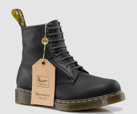 Dr Martens 1460 'For Life' Boot, with a lifetime guarantee- they'll be repaired or replaced by Doc Marten for life. I've always wanted a pair of these beauties, and what a solid investment. #mensoutfitswithboots