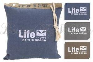 Poduszka Life Brown 45 x 45