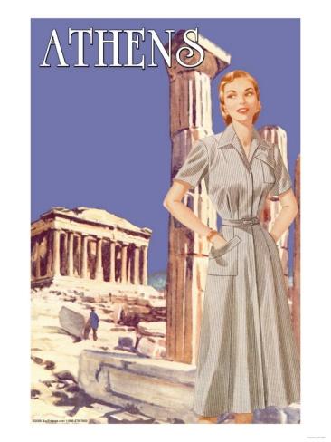 Vintage 50's poster
