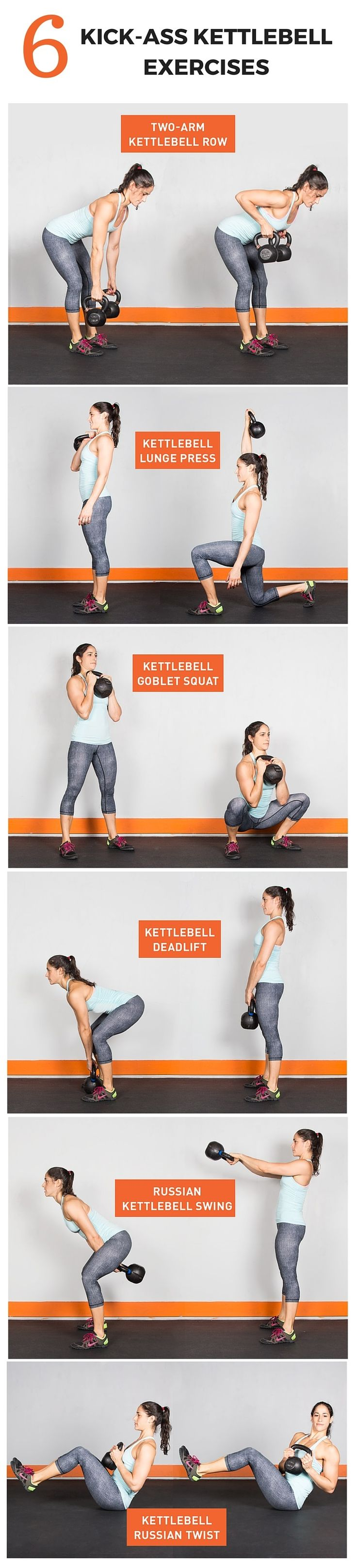 Kick-Ass Kettlebell Workout #KettlebellWorkout #fitness   Posted By: NewHowtoLoseBellyFat.com  