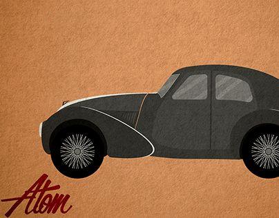 """Check out new work on my @Behance portfolio: """"Aston Martin Atom""""…"""
