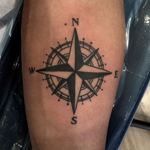 125 Best Compass Tattoos For Men Cool Designs Ideas 2020 Guide In 2020 Compass Tattoo Men Compass Tattoo Tattoos For Guys