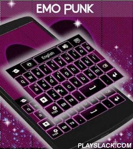 """Emo Punk Keyboard  Android App - playslack.com ,  Wij weten dat u zijn zeer ernstig over uw telefoon display graphics en daarom kwamen we met nog een ander thema : EMO PUNK TOETSENBORD ! DOWNLOAD Emo Punk Keyboard NU en upgrade naar de paarse punk energie die onze creatieve ontwerpers aangepast voor uw smartphone toetsenbord !- Om te installeren, volg deze 3 stappen: Openen na downloaden , drukt u op """"Instellen als Active Theme"""" en selecteer het thema van de volgende pagina !- De…"""