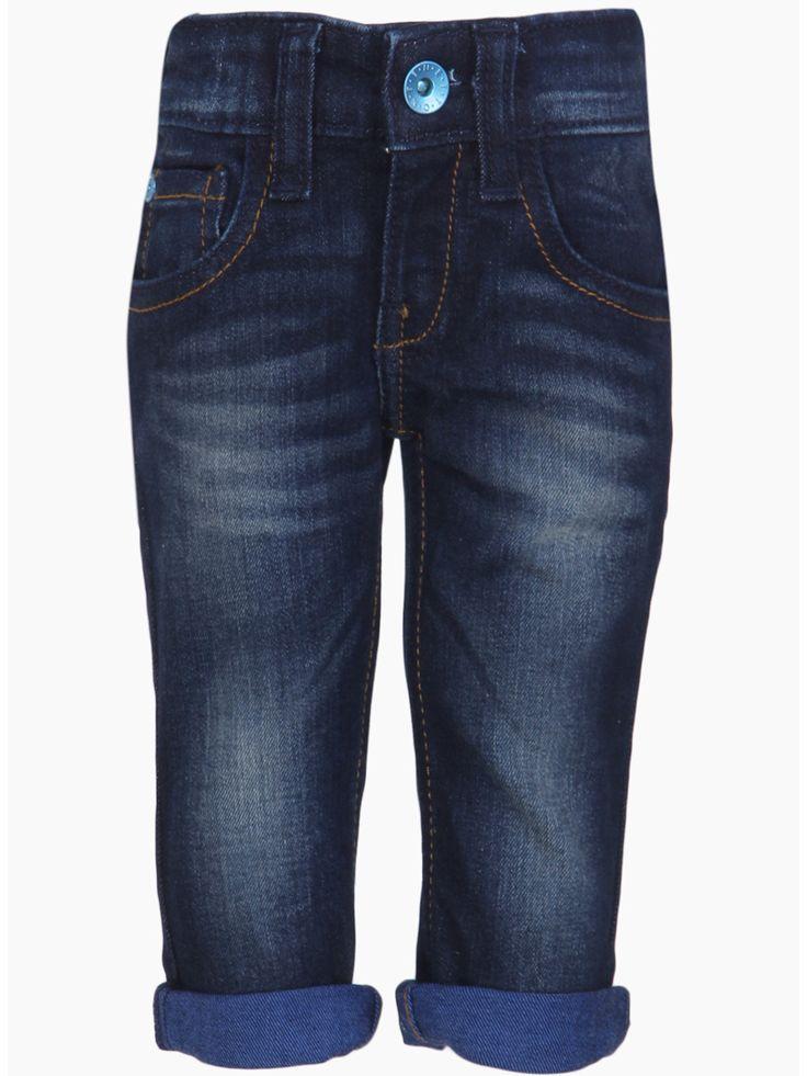 UCB Plain Blue Denim Boys Jeans