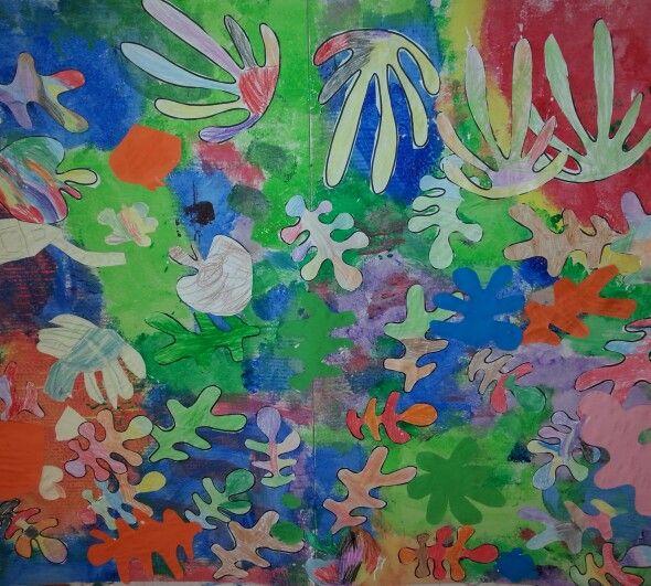 Les over Henri Matisse aan groep 2. Samen een kunstwerk maken!