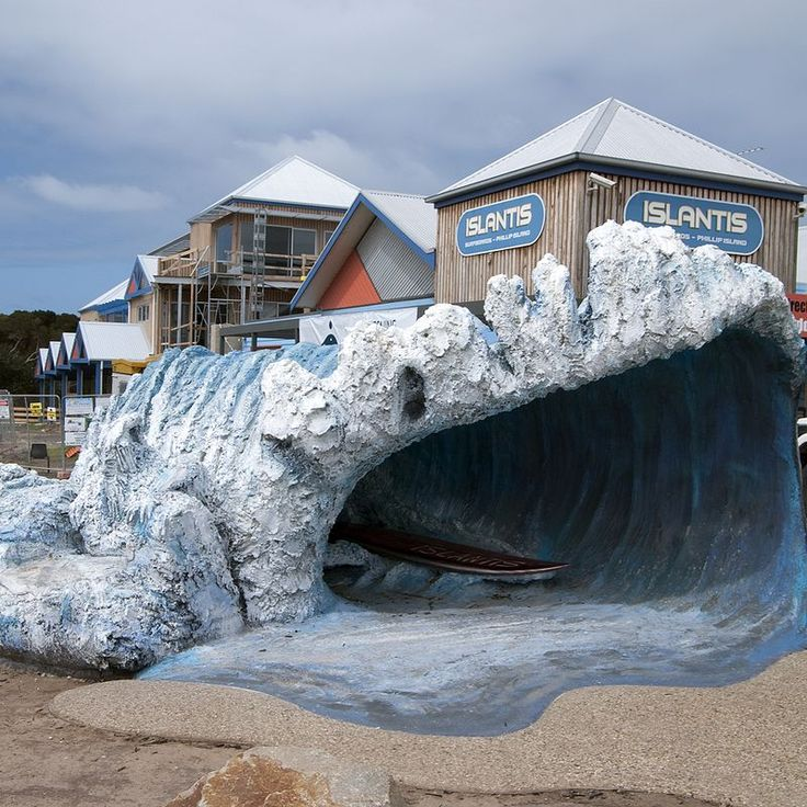 Big Wave, Newhaven  VIC