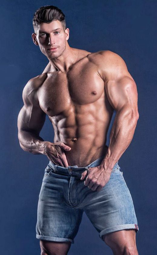 Built By Tallsteve  Well, Let Me Check   Muscles Men -3269