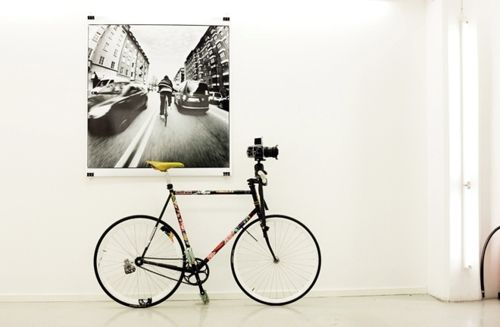 """""""Hasselblads ride bikes and take photos while doing it."""""""