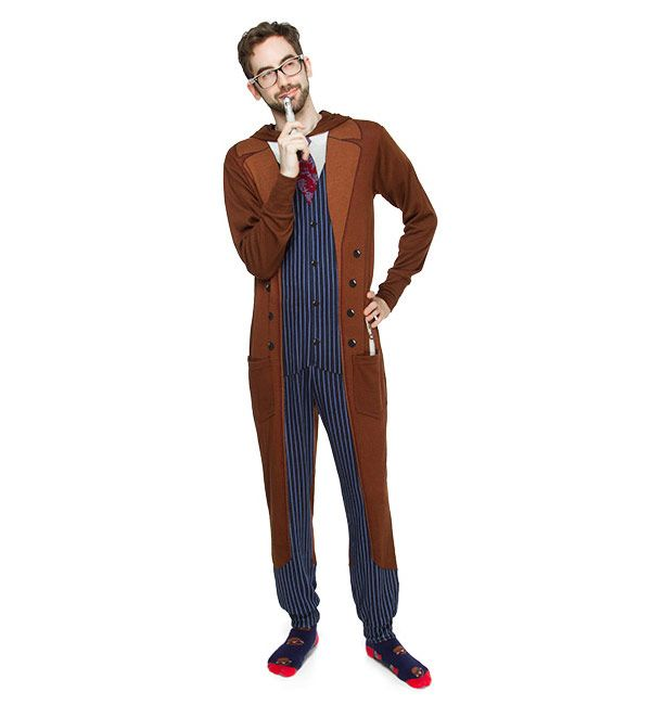 Doctor Who 10th Doctor Onesie Pajamas $39.99