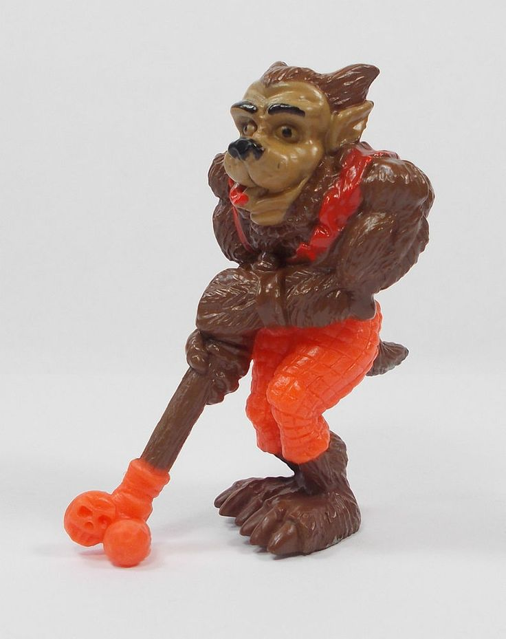 Monster in my Pocket - C4 Howlin One - Sports Stars - Mini Toy Figure