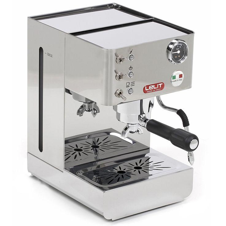 Centre du Rasoir : Lelit LEPL41LEM Cafetière Espresso Anna - Acier Inoxydable