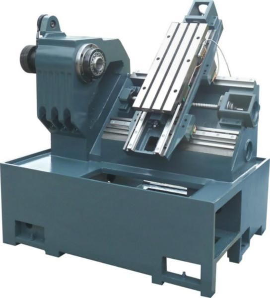cnc lathe machine frame slant diy customer-made oblique linear guider ball screw spindle a2-4 GP-22P bare machine 320X250mm