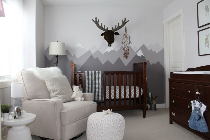 Mountain theme nursery