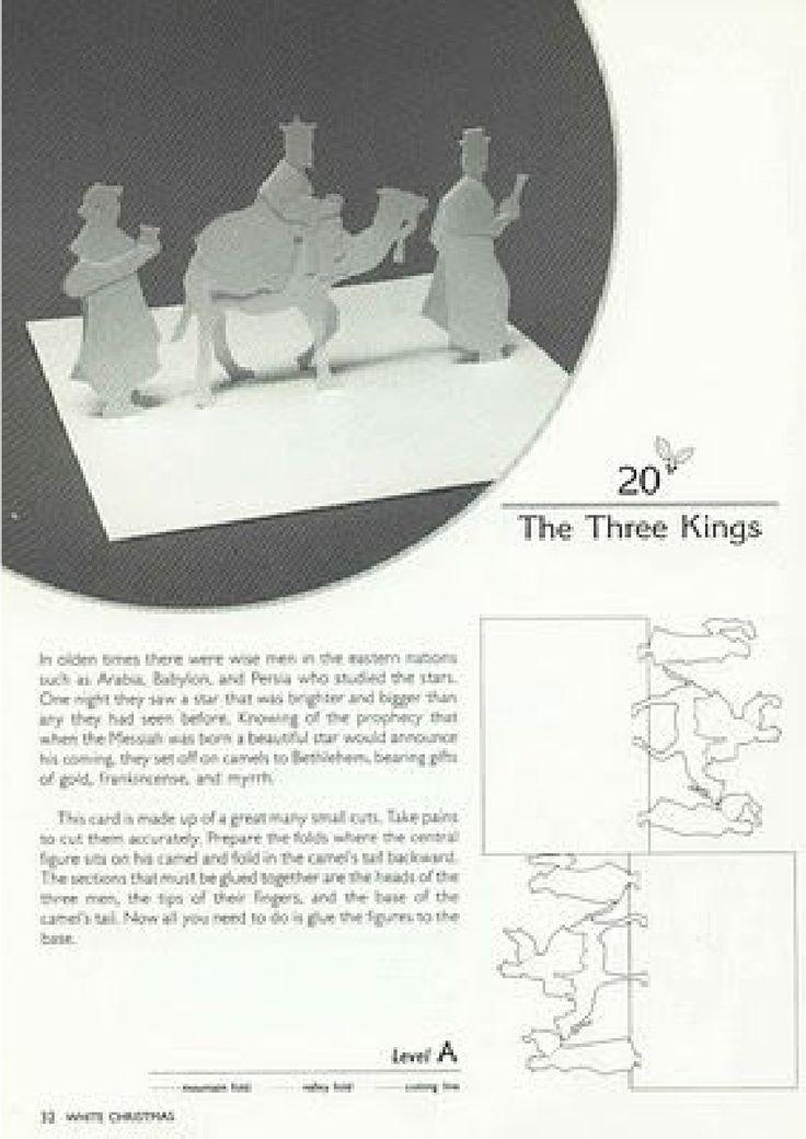 White Christmas Kirigami - Masahiro Chatani Keiko Nakazawa | Scribd