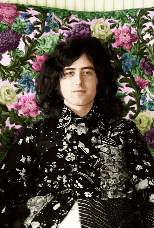 Jimmy Page of Led Zeppelin#LedZep #Zep                                                                                                                                                      More