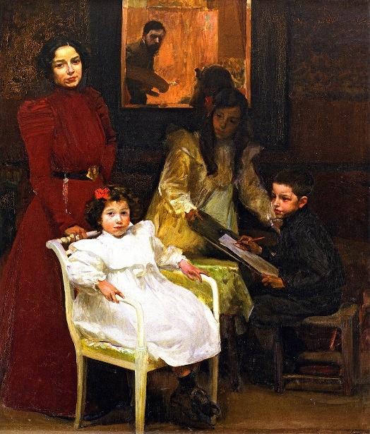 Joaquin Sorolla y Bastida (1863 – 1923, Spanish)  My Family