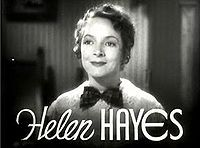 "Helen Hayes - ""First Lady of the American Theatre"", she was one of eleven people to have won an Emmy, a Grammy, an Oscar and a Tony Award."