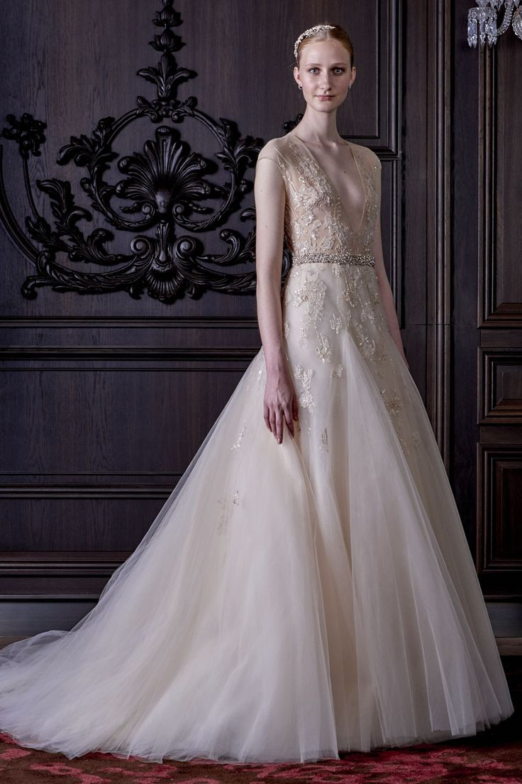 Monique Lhuillier Collection New York Bridal Market 2016
