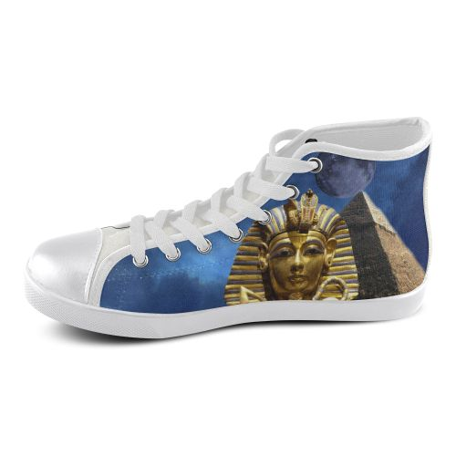 King Tut and Pyramid Men's High Top Canvas Shoes. FREE Shipping. FREE Returns.