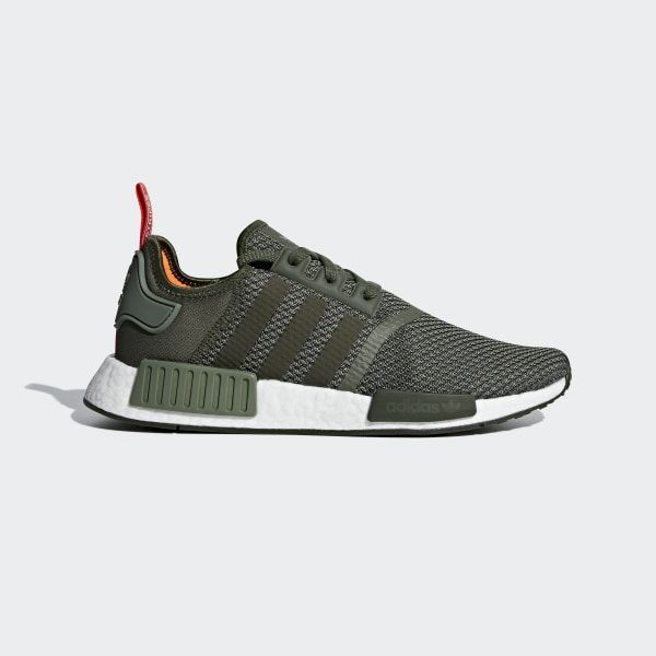Shop for NMD_R1 Shoes - Green at adidas.co.uk! See all the ...
