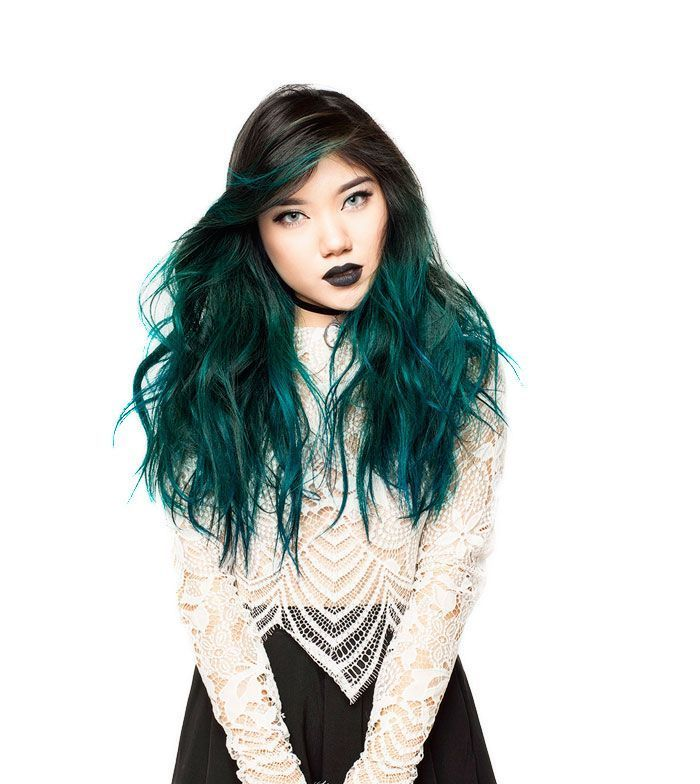 Loreal Paris Colorista Wa Colorista Hair Dye Dark Teal Hair