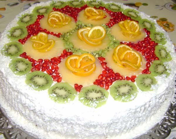как приготовить торт ананасовый рай в дом. условиях
