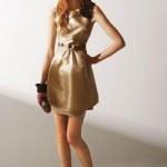 Vestidos cortos de moda casual verano 2012